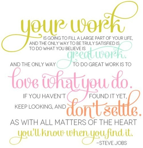 Steve Jobs Quote About Work Pictures, Photos, And Images