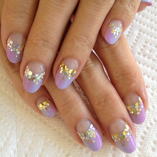 spring gold ombre nails pictures photos and images for