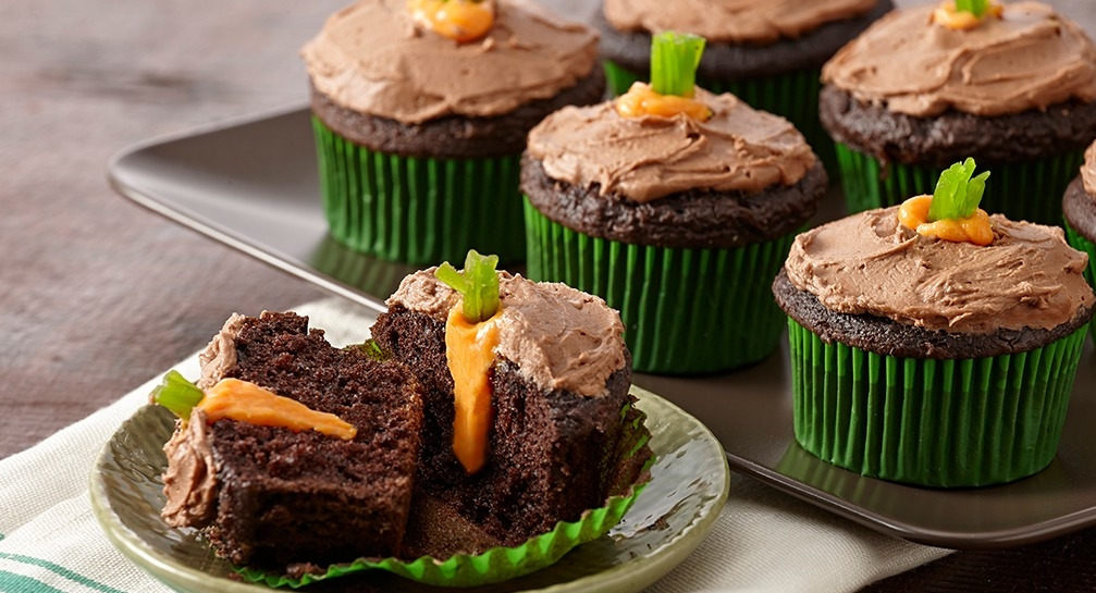 Easter Carrot Patch Cupcakes Pictures, Photos, and Images for ...
