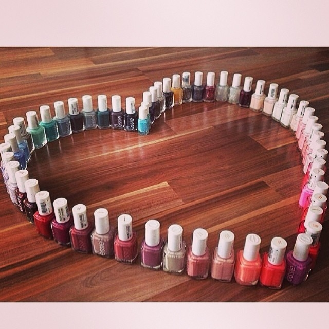 Here Comes The Bride With Some Awesome Nails: Nail Polish Heart Pictures, Photos, And Images For