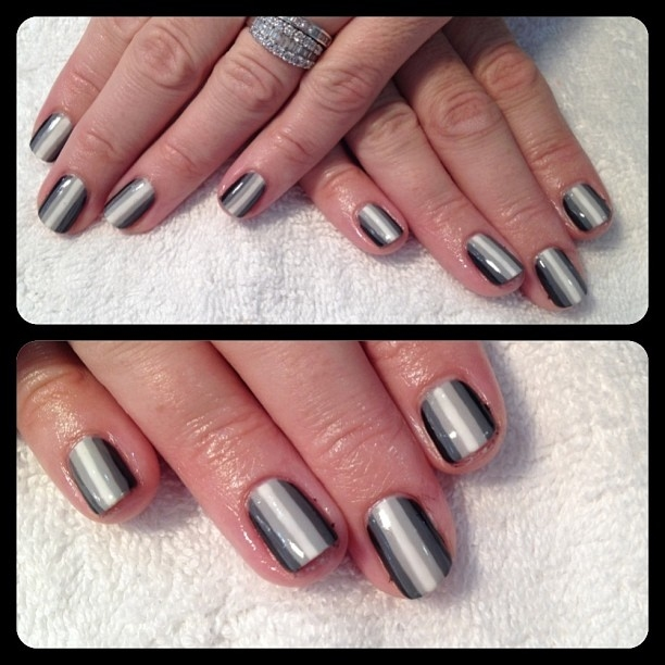 Grey Gradient Gel Nails Pictures, Photos, and Images for Facebook