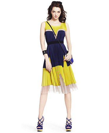 Yellow Amp Blue Summer Dress Pictures Photos And Images