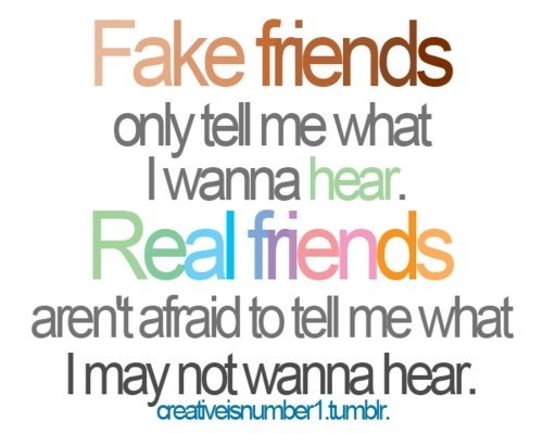 Quotes For True Friends And Fake Friends: Fake Friends And Real Friends Pictures, Photos, And Images