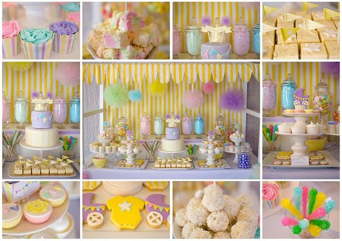 Fairyfloss Cotton Candy Baby Shower