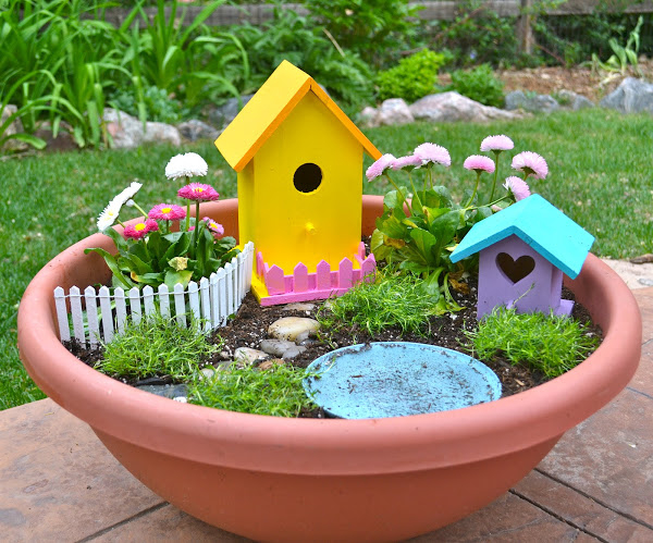 fairy garden pictures   images  facebook
