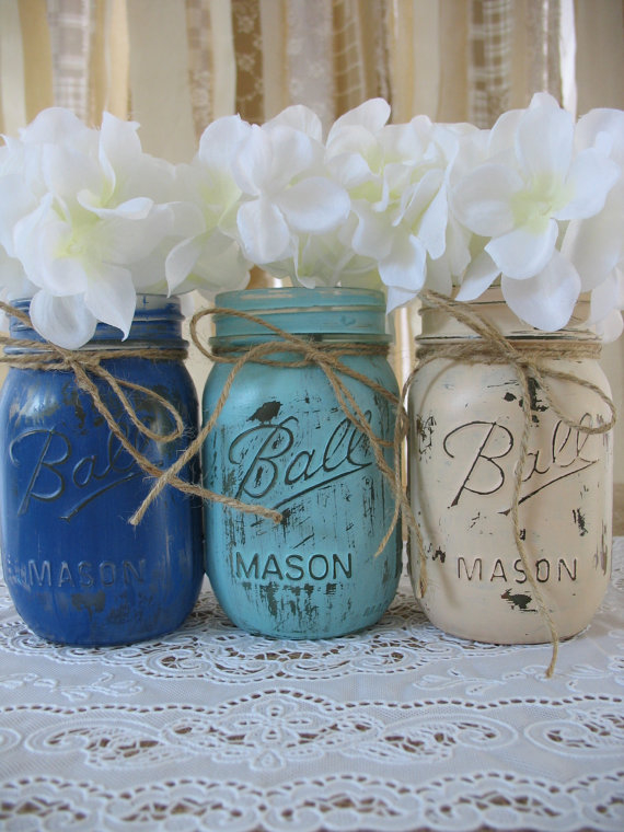 Rustic Wedding Mason Jars Pictures Photos and Images for