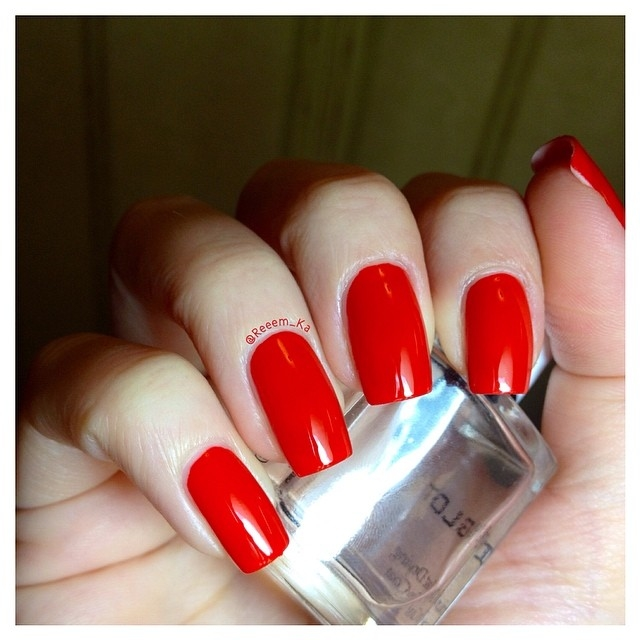 Red Square Nails Pictures, Photos, and Images for Facebook, Tumblr ...