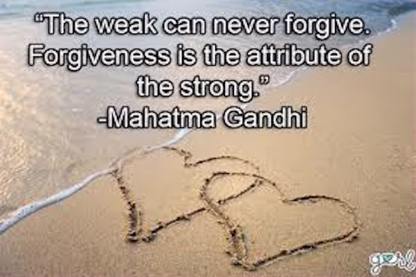 Forgiveness Quotes: The Weak Can Never Forgive Pictures, Photos, And Images