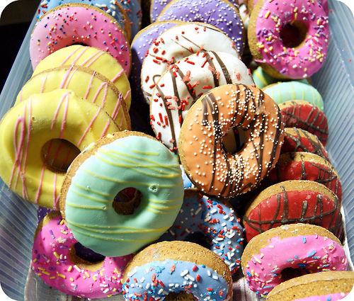 Dozen Of Sweet Donuts Pictures, Photos, And Images For