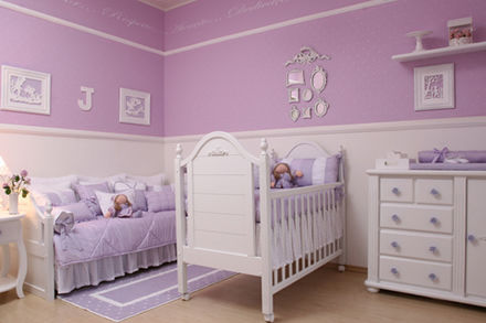 Lavender And White Nursery