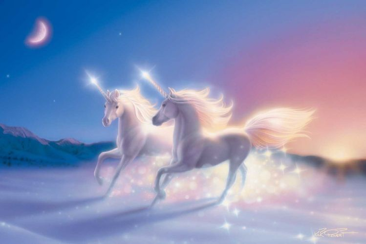 Unicorn Painting By Kirk Reinert Pictures Photos And Images For Facebook Tumblr Pinterest
