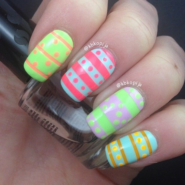 Easter Egg Inspired Nails Pictures, Photos, and Images for Facebook ...
