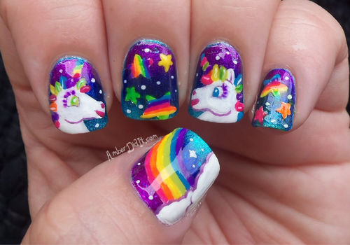 Rainbow Unicorn Nails Pictures Photos And Images For Facebook