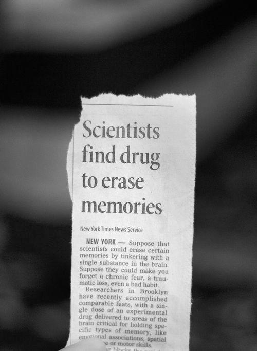 Scientists find drug to erase memories