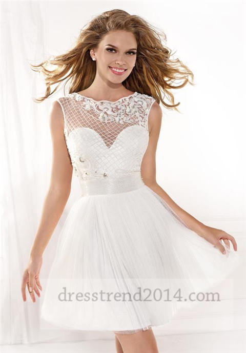 Cheap Prom Dresses With Short Sleeves - Homecoming Prom Dresses