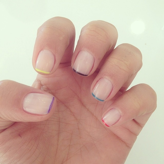 colorful manicured nails pictures photos and images for facebook
