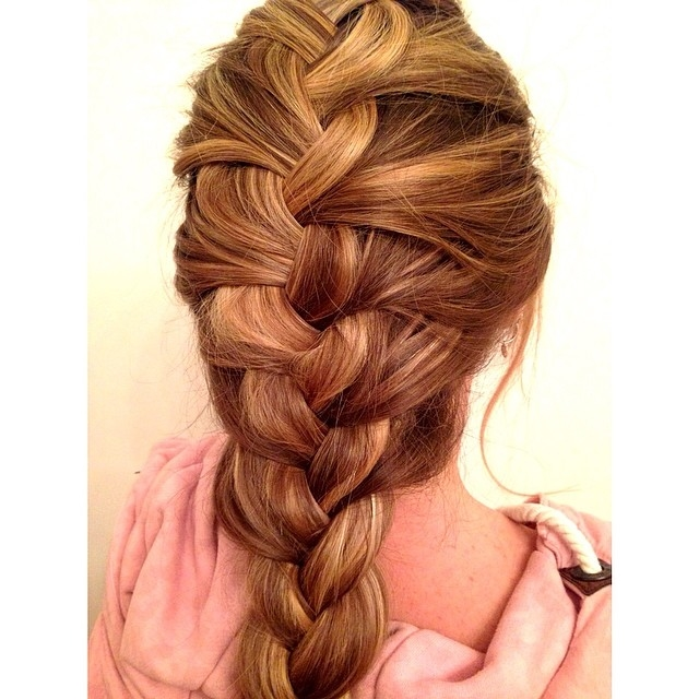 Wondrous How To Do Easy French Braid Braids Hairstyle Inspiration Daily Dogsangcom