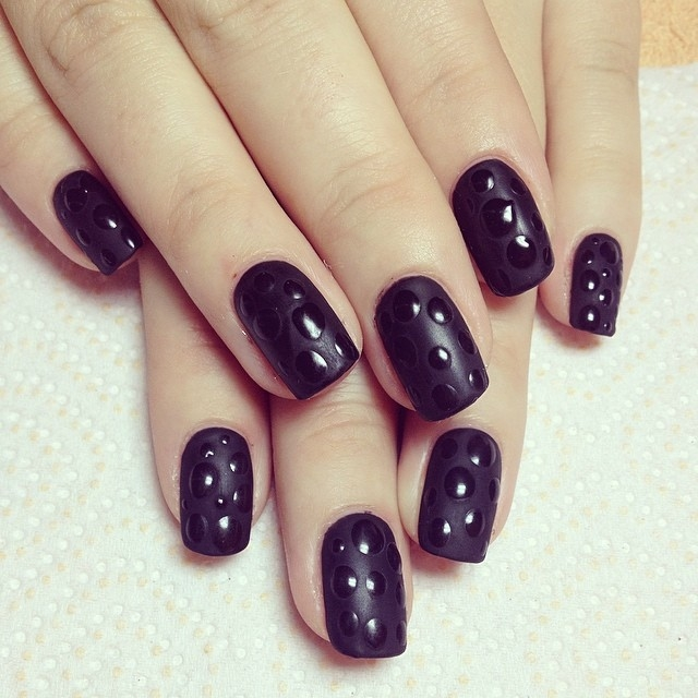Black Gel Polish Nails Pictures, Photos, and Images for Facebook