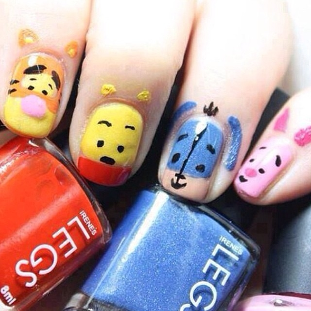 Winnie The Pooh Nails Pictures Photos And Images For Facebook