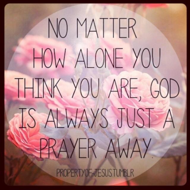 God Is Always Just A Prayers Away - 184.2KB