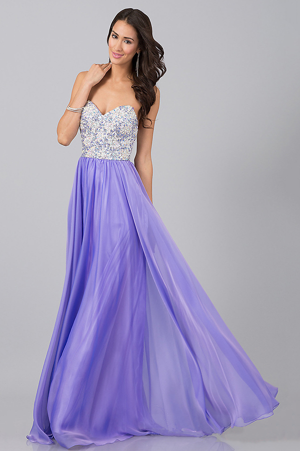 Light Purple Prom Dresses - Long Dresses Online