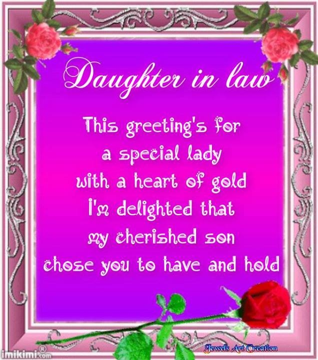 Loving Mother In Law Quotes: Daughter In Law Quote Pictures, Photos, And Images For