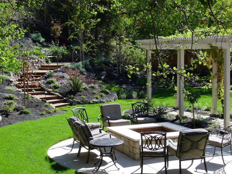 Beautiful Landscaped Backyard Pictures, Photos, and Images ... on Beautiful Backyard  id=20016