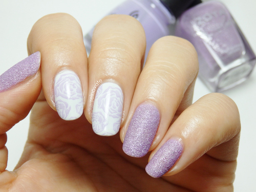 Lilac nail design - Lilac Nail Design Pictures, Photos, And Images For Facebook, Tumblr