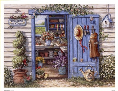 Garden shed by janet kruskamp pictures photos and images for Garden shed jokes