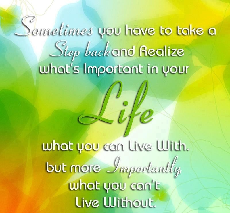 Quotes About Whats Important In Life Gorgeous Whats Important In Life Pictures Photos And Images For Facebook