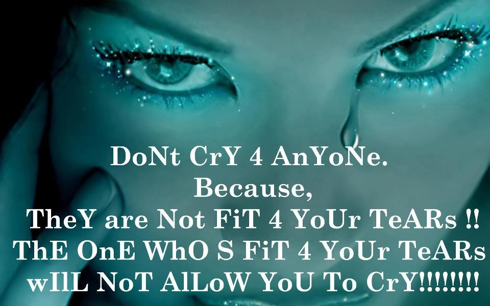 Dont Cry For Anyone Pictures, Photos, And Images For