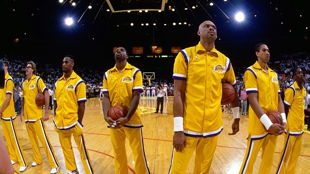 best team ever essembled l a lakers 80 s through early 90 s