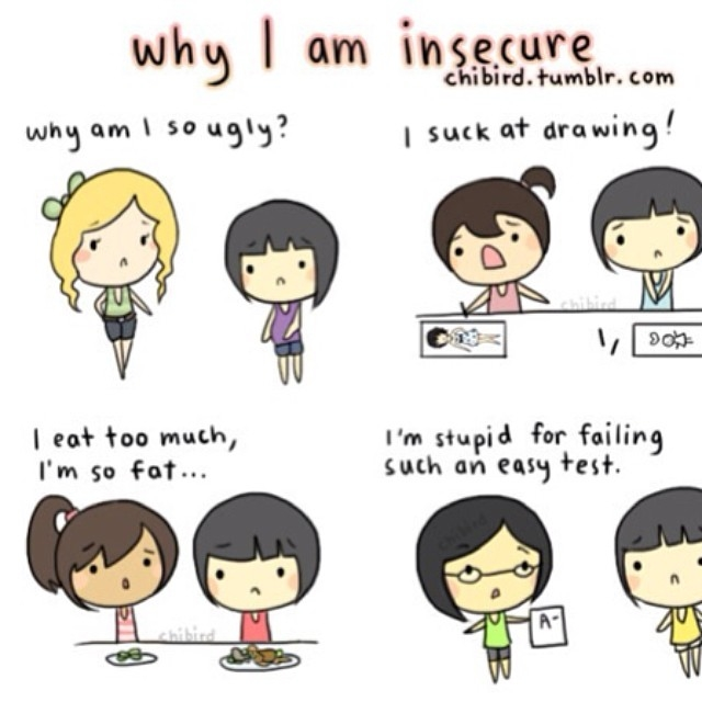 how to tell if someone is insecure
