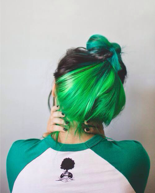 Green Dyed Hair Pictures Photos And Images For Facebook