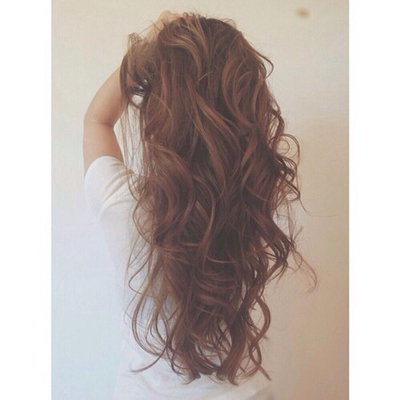 long brown curly hair tumblr Quotes