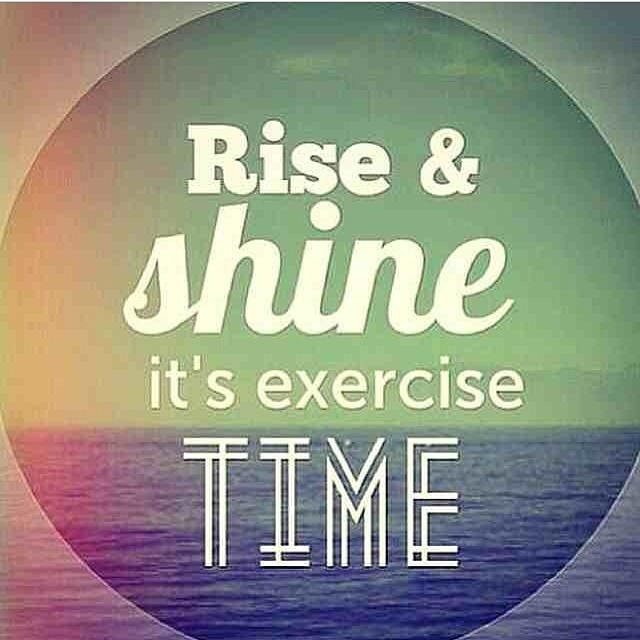Rise And Shine Quotes Beauteous Rise And Shine Its Exercise Time Pictures Photos And Images For