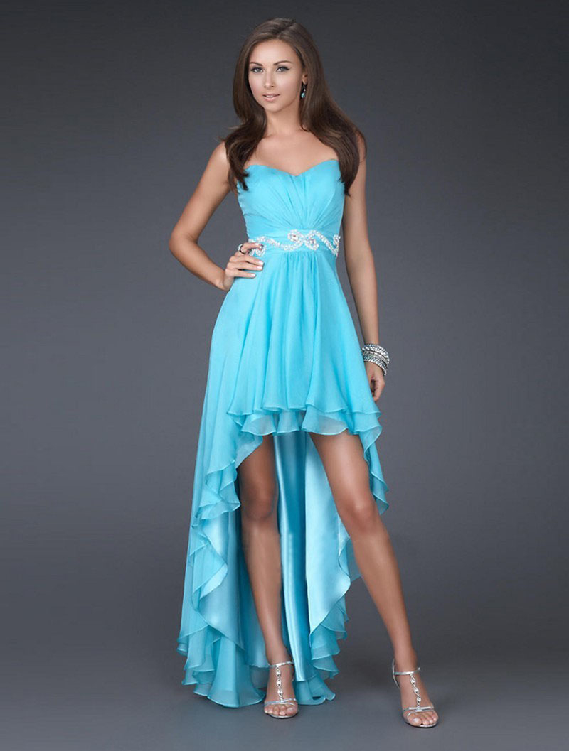 Turquoise Hi Lo Dress Pictures, Photos, and Images for Facebook ...