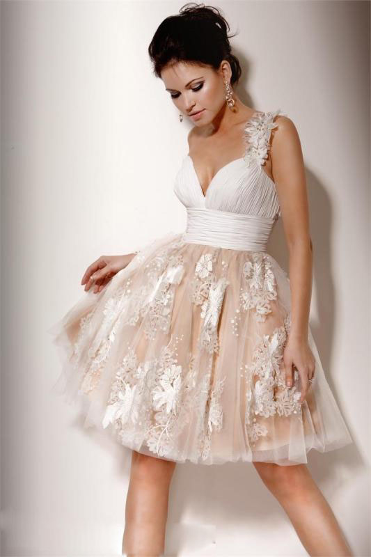 Short White Dresses Formal