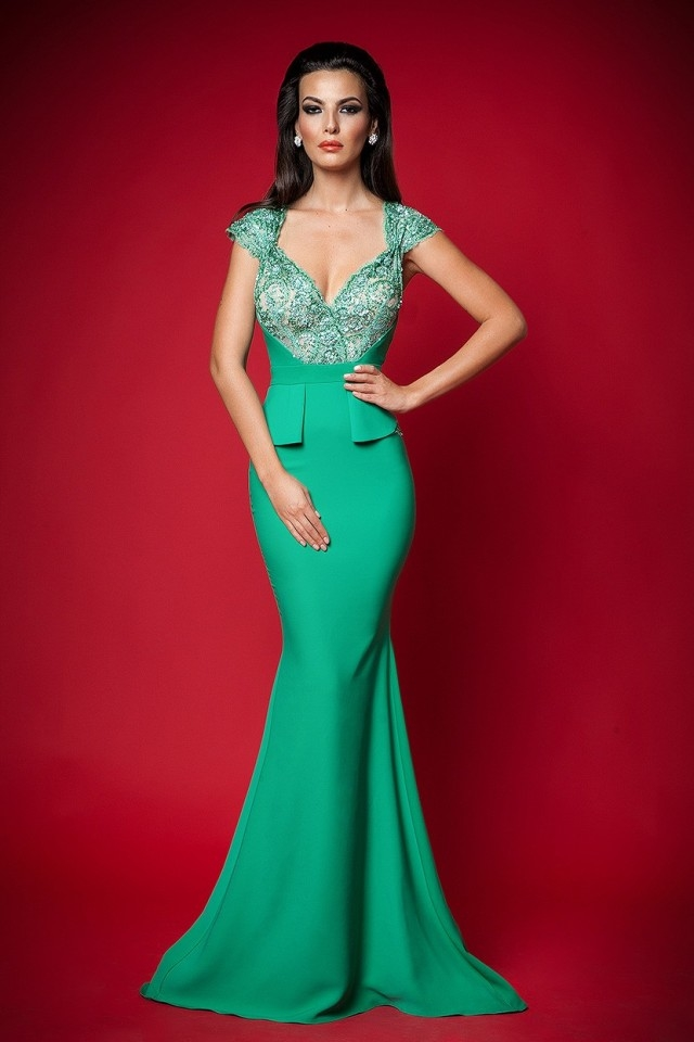 Gorgeous Green Long Formal Dress Pictures, Photos, and Images for ...