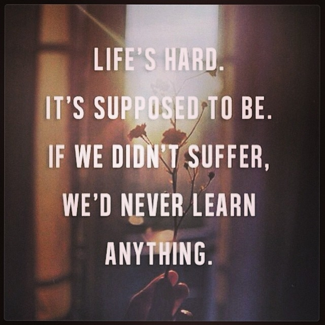 Hard Life Inspirational Quotes: Lifes Hard Pictures, Photos, And Images For Facebook