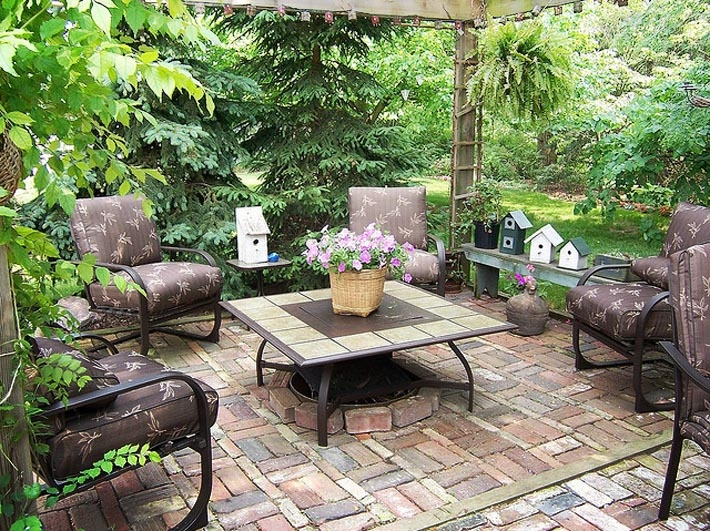 Comfy Brick Patio Pictures, Photos, and Images for Facebook, Tumblr, Pinterest, and ...