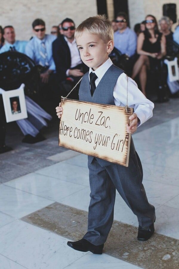 Here Comes Your Wedding Sign