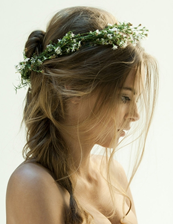 Flower Garland For Wedding Hairstyle Pictures Photos And Images