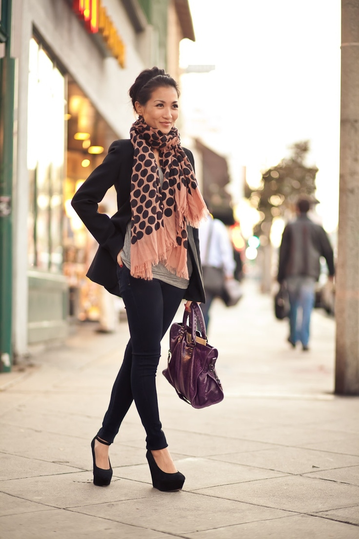 Black, Polka Dots & Wedges Pictures, Photos, and Images