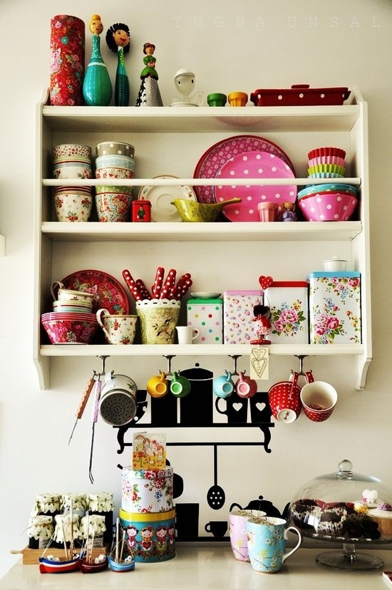 Http Www Lovethispic Com Image 91337 Colorful Home Coffee Bar Area