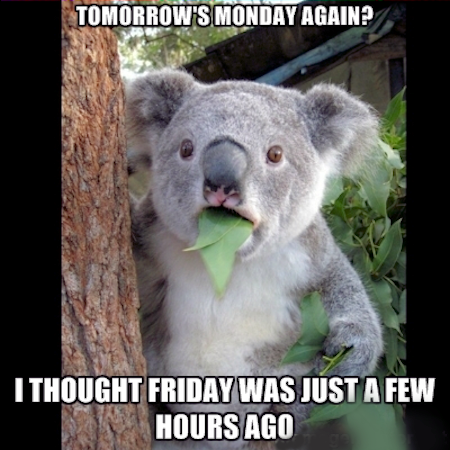 Facebook Twitter Pinterest Google Tomorrow Is Monday Again Quotes