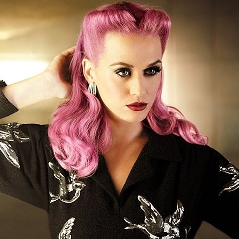 katy perry with pink hair pictures photos and images for facebook