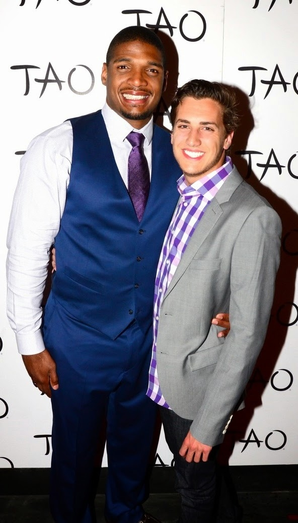 Michael Sam And His Boyfriend Vito Cammisano Pictures ...