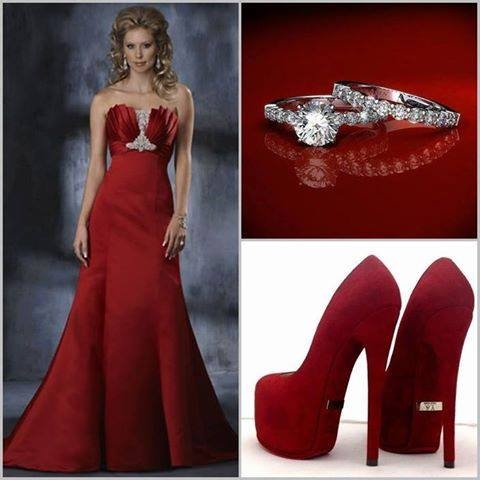 Red Gown & Accessories Pictures, Photos, and Images for Facebook ...