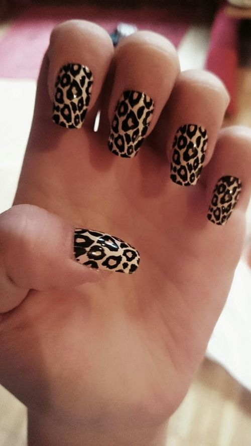 Cheetah nails pictures photos and images for facebook tumblr cheetah nails solutioingenieria Choice Image